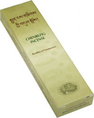Gangchen | Tibetan Incense | Chenrizeg |  Compassion | 20 Sticks | Made in Nepal (5)